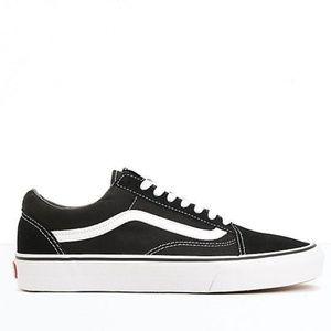 Vans Old Skool Black & White Skate Shoes